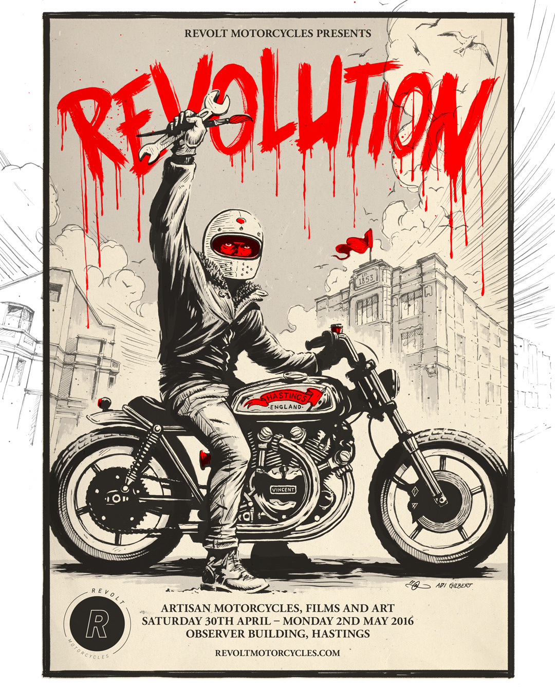 Revolution Exhibition - Flyer 1