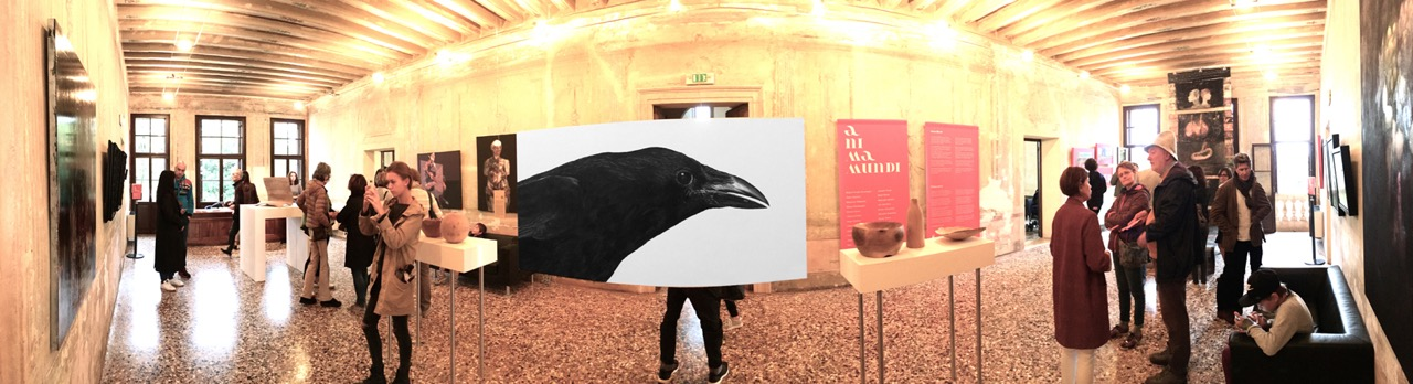 Panoramic with Crow