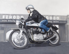 Tim on his Triton